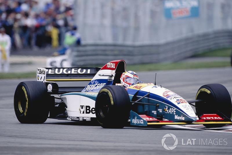 Rubens Barrichello, Jordan, 1995