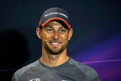 Pressekonferenz: Jenson Button, McLaren
