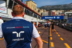 Boxengasse in Monaco