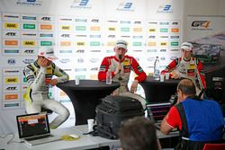 Press conference, Lando Norris, Carlin Dallara F317 - Volkswagen, Maximilian Günther, Prema Powertea