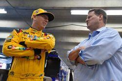 Kyle Busch, Joe Gibbs Racing, Toyota, mit Steve O'Donnell