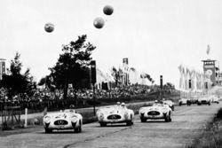 Karl Kling, Hermann Lang, Fritz Rieß, Theo Helfrich, Mercedes-Benz 300 SL