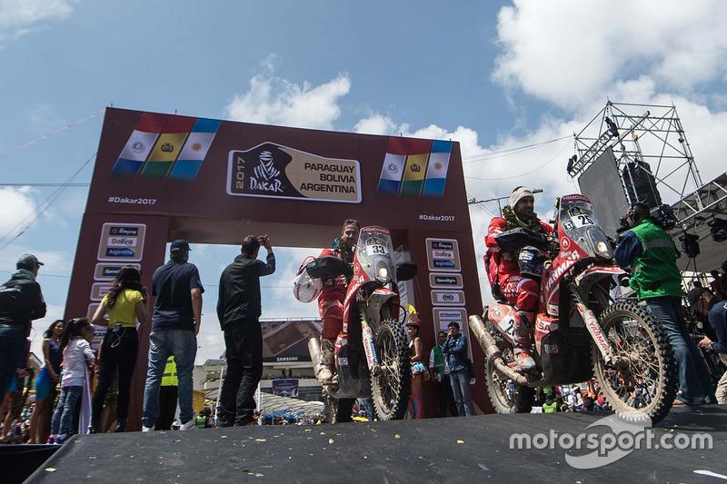 #25 Himoinsa Racing Team KTM: Ivan Cervantes, #33 Himoinsa Racing Team KTM: Antonio Gimeno