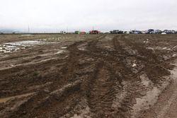 Muddy bivouac