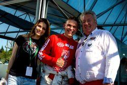 Freundin von Maciej Dreszer, Maciej Drezser, DF1 Racing, Norbert Walchhofer, DF1-Racing Teamchef