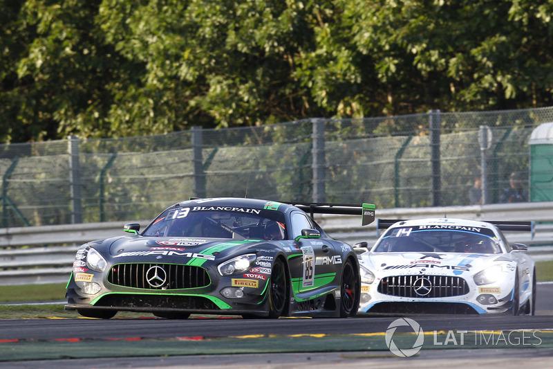 #85 HTP Motorsport Mercedes-AMG GT3: Edward Sandström, Fabian Schiller, Dominik Baumann