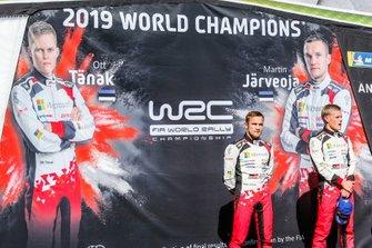 I Campioni Ott Tänak, Martin Järveoja, Toyota Gazoo Racing WRT Toyota Yaris WRC