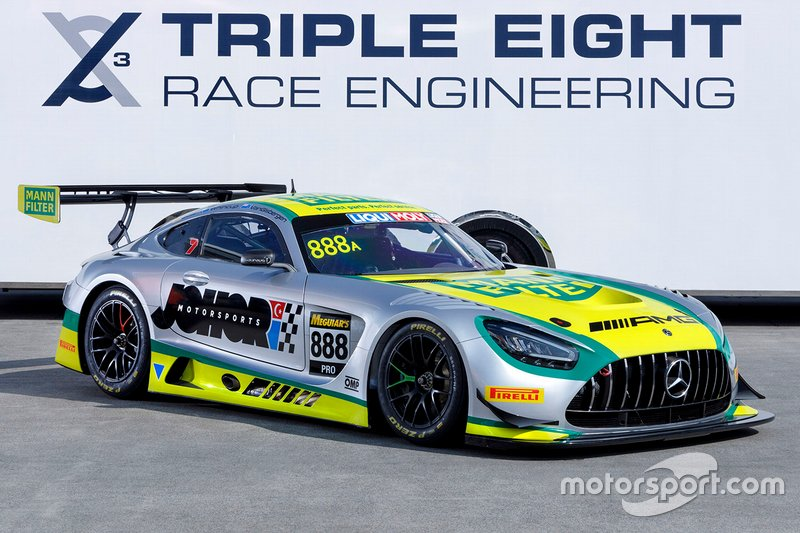 Triple Eight Race Engineering Mercedes Bathurst unveil