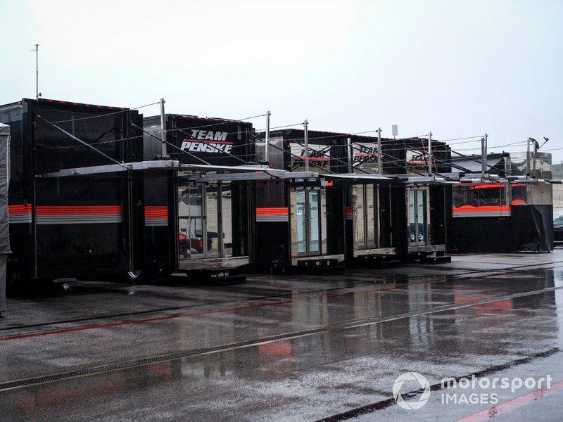 Трейлеры Team Penske Chevrolet