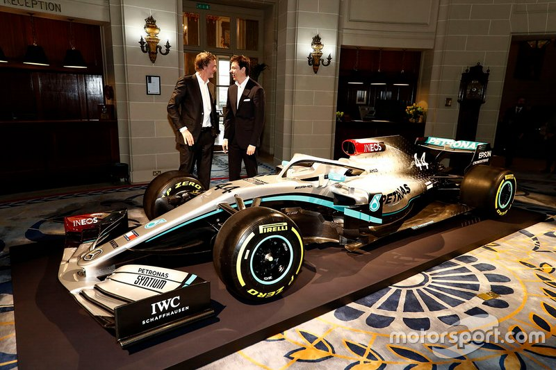 Toto Wolff, Mercedes AMG F1 Direttore, Sir Jim Ratcliffe, Presidente dell' Ineos