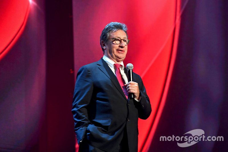 Louis Camilleri, CEO of Ferrari