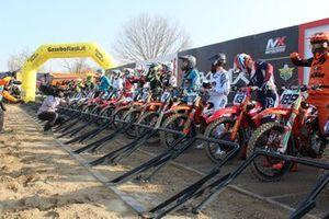 177 moto in gara durante gli Internazionali d'Italia a Mantova