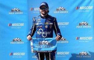 Pole sitter: Ricky Stenhouse Jr., JTG Daugherty Racing, Chevrolet Camaro Kroger