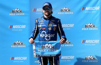 Pole position: Ricky Stenhouse Jr., JTG Daugherty Racing, Chevrolet Camaro Kroger