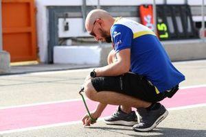 Un technicien Michelin
