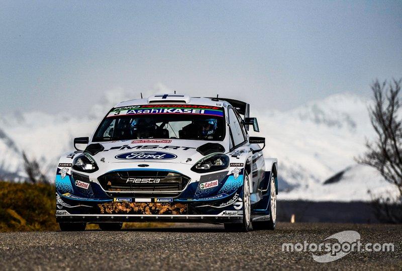 Теему Сунинен и Ярмо Лехтинен, M-Sport Ford WRT, Ford Fiesta WRC
