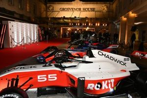 W Series, Formula E and F1 cars on display