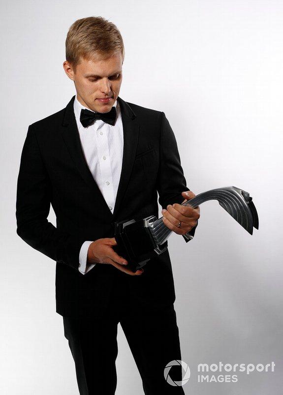 Отт Тянак с призом в номинации «Раллист года»