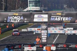 Azione in pista al Monza Rally Show