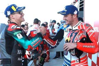 Pole position pour Fabio Quartararo, Petronas Yamaha SRT, et troisième place pour Jack Miller, Pramac Racing