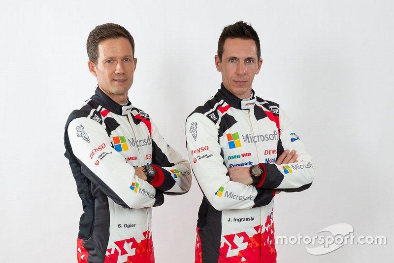 Toyota Gazoo Racing WRC. Экипаж № 17: Ожье – Инграссиа