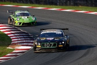 #107 Bentley Team M-Sport Bentley Continental GT3: Jules Gounon, Maxime Soulet, Jordan Pepper