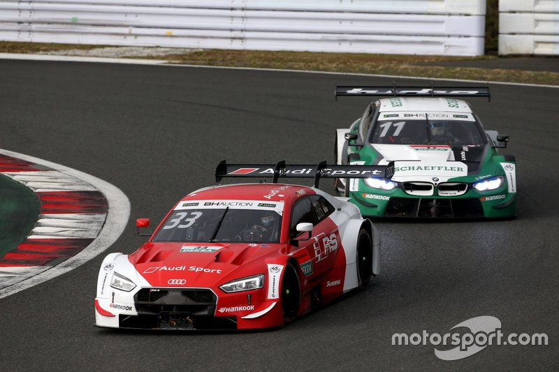 Rene Rast, Audi Sport Team Rosberg Audi RS5 DTM, Marco Wittmann, BMW Team RBM BMW M4 DTM