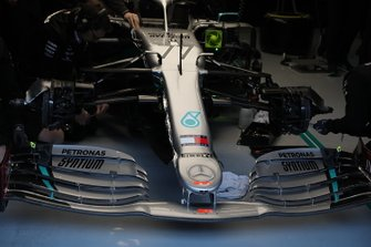 Mercedes AMG F1 W11 front wing