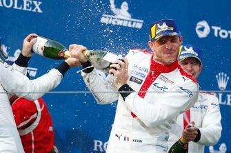Podio: #92 Porsche GT Team Porsche 911 RSR - 19: Michael Christensen, Kevin Estre