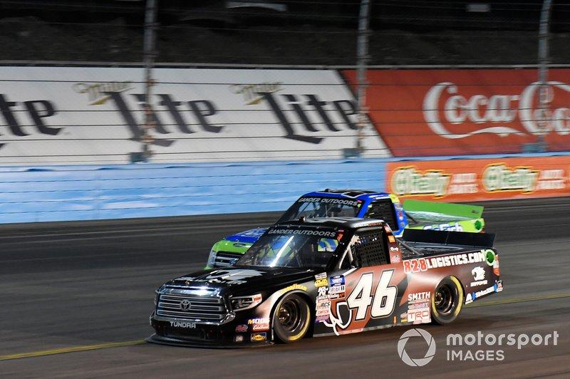 Chandler Smith, Kyle Busch Motorsports, Toyota Tundra iBUYPOWER\828 Logistics, Ben Rhodes, ThorSport Racing, Ford F-150