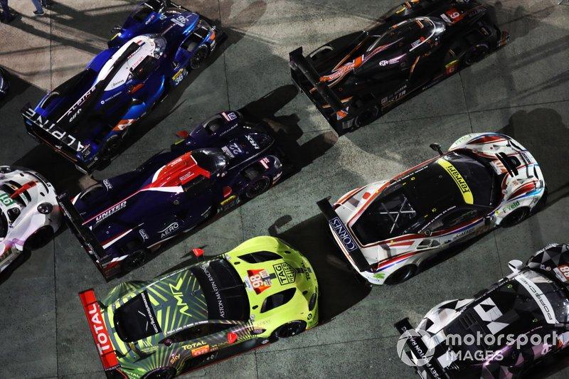 Филип Хэнсон, Филипе Альбукерк и Пол ди Реста, United Autosport, Oreca 07 (№22)