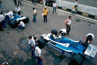Didier Pironi, Ligier, Jacques Laffite, Ligier, al GP del Brasile del 1980