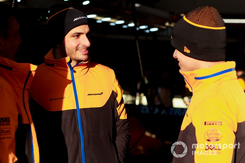 Carlos Sainz, McLaren and Lando Norris, McLaren