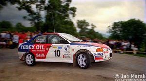 Piotr Świeboda, Artur Skorupa, Mitsubishi Lancer Evo IV, Rajd Polski 1998