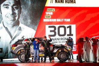 Нани Рома и Даниэль Оливерас Каррерас, Borgward Rally Team, Borgward BX7 EVO (№301)