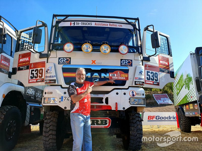 #539 Rafa Tibau, Ramón María Invernon, TH Trucks