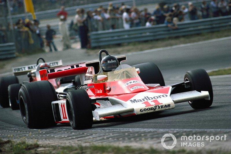 Zandvoort 1976: James Hunt geeft zijn McLaren de sporen