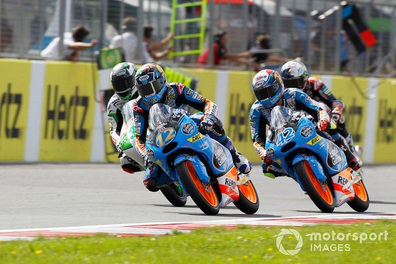 Alex Marquez, Honda, precede Alex Rins, Honda