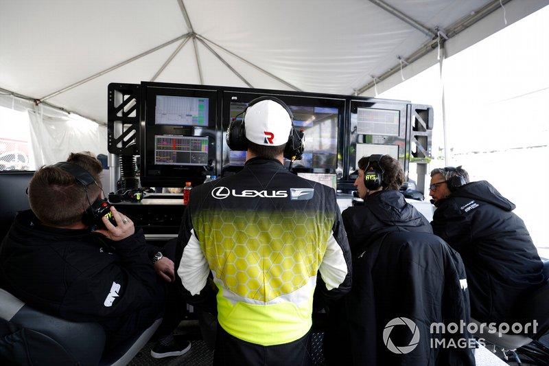 #14 AIM Vasser Sullivan Lexus RC F GT3: Kyle Busch