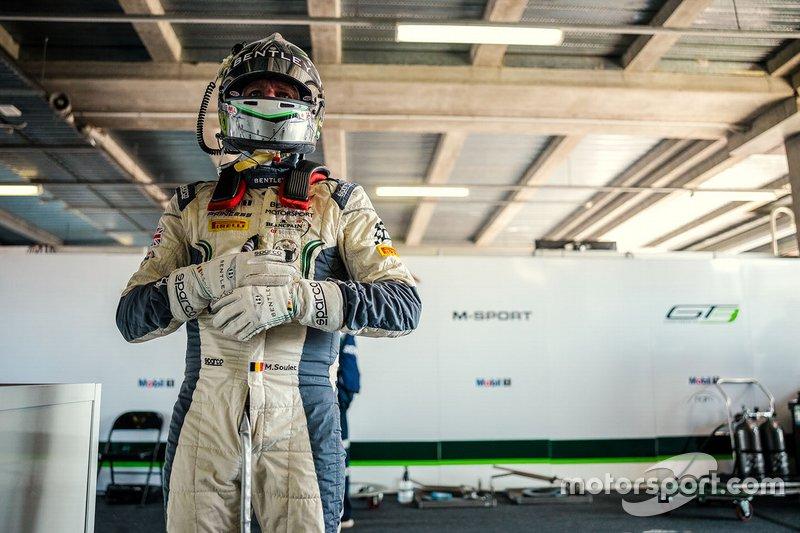 #7 Bentley Team M-Sport Bentley Continental GT3: Maxime Soulet