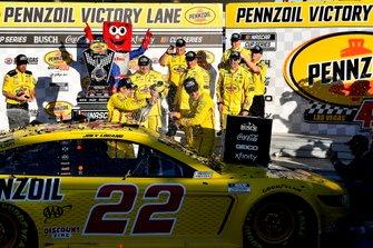 Ganador Joey Logano, Team Penske, Ford Mustang Pennzoil