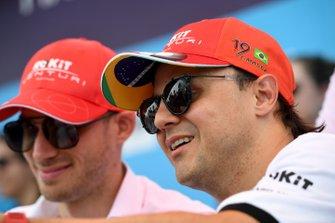 Felipe Massa, Venturi, Edoardo Mortara, Venturi meet fans
