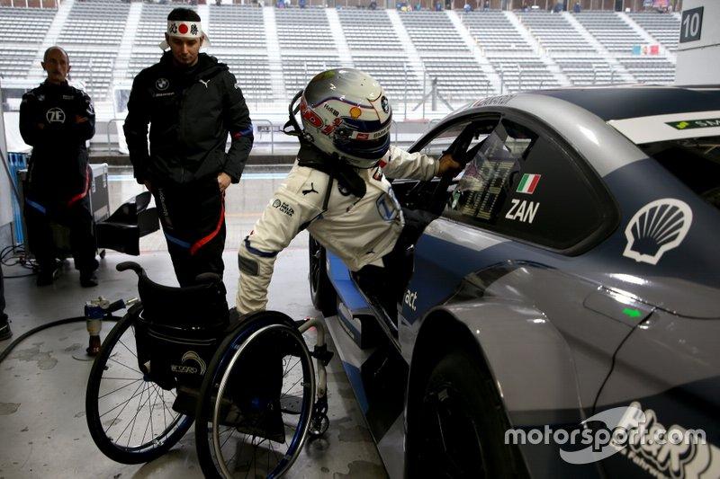 Алекс Занарди на совместной гонке Super GT и DTM на «Фудзи»