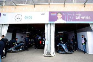Le garage Mercedes Benz EQ