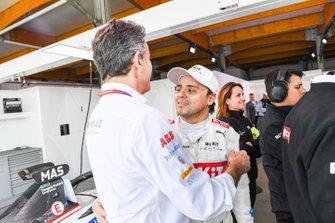 Alejandro Agag, Chairman of Formula E, Felipe Massa, Venturi