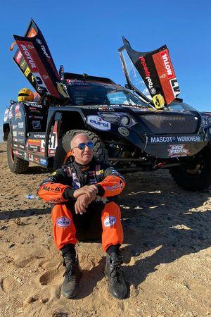 #347 Jefferies and Maxxis Dakar Team: Tim Coronel