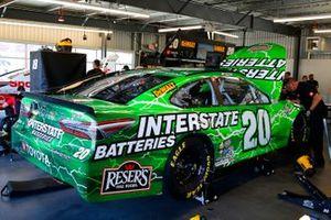 Erik Jones, Joe Gibbs Racing, Toyota Camry Interstate Batteries