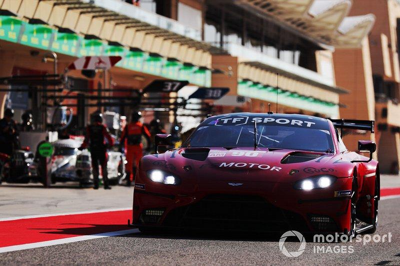 #90 TF Sport Aston Martin Vantage: Salih Yoluc, Charles Eastwood, Jonathan Adam
