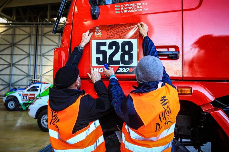 Maz-Sportauto Truck en Paul Ricard