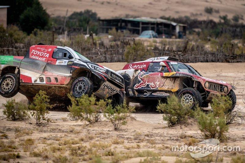 Yazeed Al Rajhi, Toyota, Carlos Sainz, MINI X-Raid